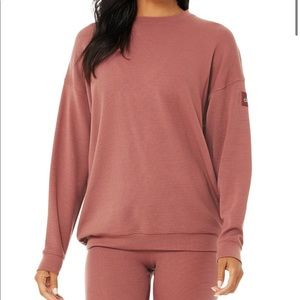 ALO Yoga - Micro Waffle Relaxation Pullover
